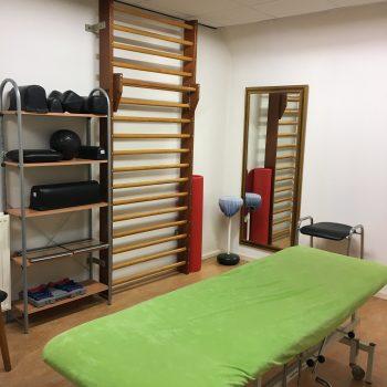 Fysio 4 Bedumerweg Groningen - praktijkruimte fysiotherapie