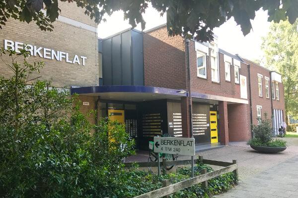 Fysio 4 Berkenlaan Selwerd Groningen - buitenkant gebouw