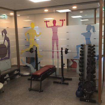 Fysio 4 Bottelroosstraat Selwerd Groningen - oefenruimte fysiotherapie