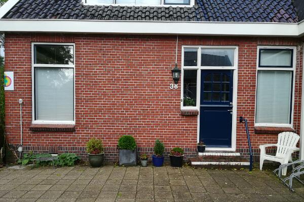 Fysio 4 Noorderhoogebrug Groningen - buitenkant fysiopraktijk