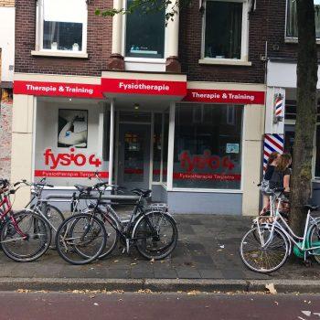 Fysio 4 Westersingel Groningen - buitenkant fysiopraktijk 2