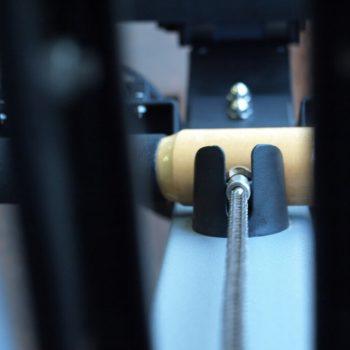 Kabel van roeiapparaat in oefenruimte Fysio 4 Groningen