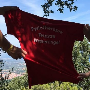 Fysio 4 Westersingel Groningen - T-shirt Fysiotherapie Terpstra Westersingel