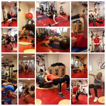 Fysio 4 Westersingel Groningen - actiefoto's personal training