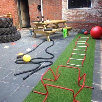 Fysio 4 Westersingel Groningen - oefenruimte binnenplaats fysiopraktijk 1