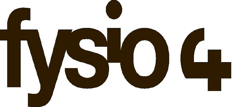 Logo Fysio 4 - Fysiotherapie in Groningen voor een fitter en gezonder leven