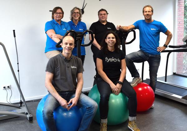 Teamfoto praktijk fysiotherapie Fysio 4 Groningen