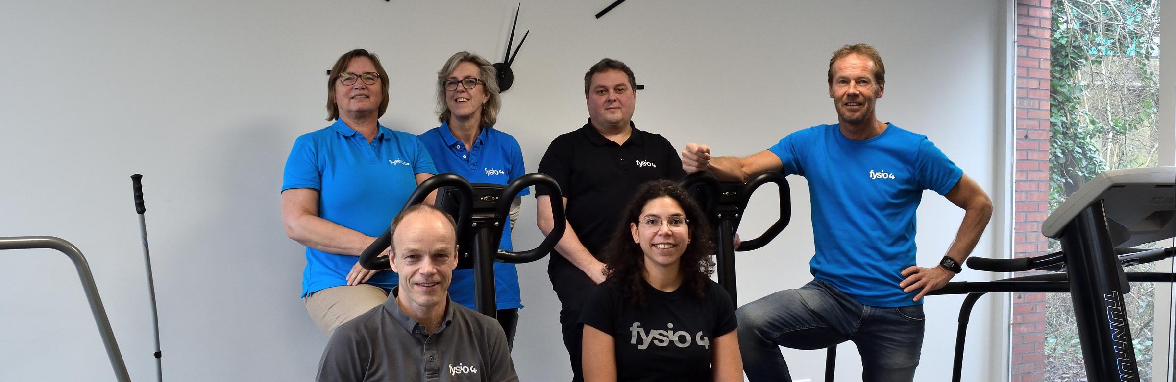 Team foto Fysio 4 2020